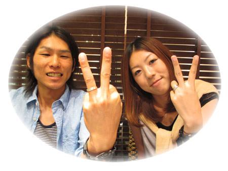 12081703木目金の結婚指輪.JPG