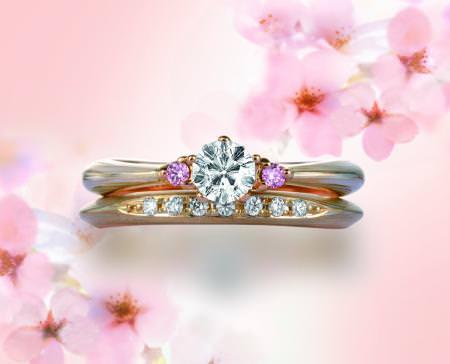 木目金の婚約結婚指輪122102.jpg