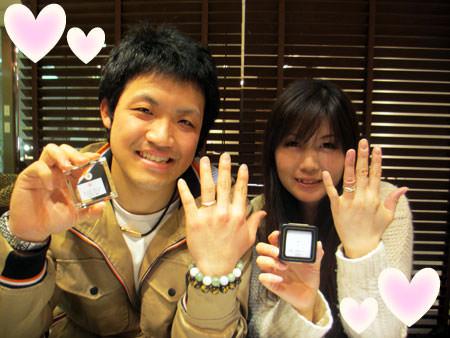 1307005木目金の婚約指輪と結婚指輪_H005.jpg