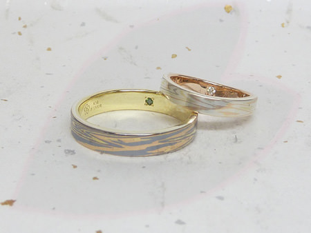 13082701木目金の結婚指輪_H002.JPG