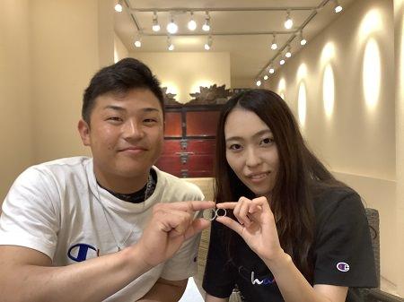 20082302木目金の結婚指輪_H001.JPG