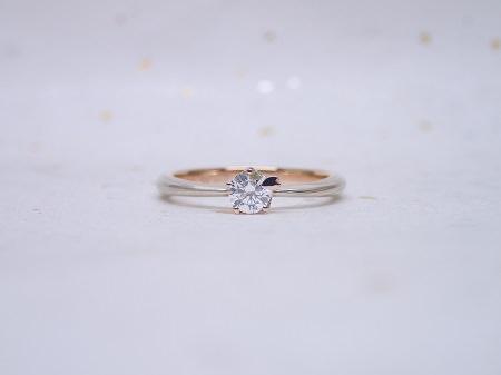 16122502木目金の婚約指輪と結婚指輪_A004①.JPG