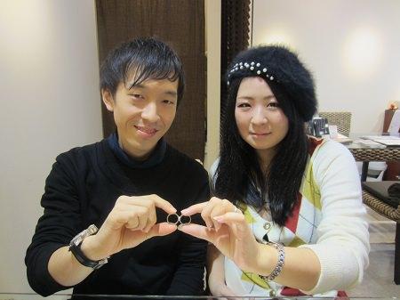 16122502木目金の婚約指輪と結婚指輪_A001.JPG