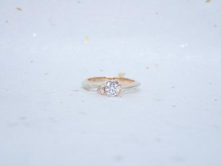 17100101木目金の婚約指輪_A004①.JPG