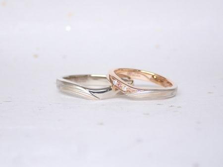 18070102杢目金の婚約指輪と結婚指輪_A004②.JPG