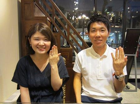18083101木目金の婚約指輪と結婚指輪_A003.JPG