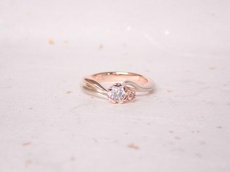 18083101木目金の婚約指輪と結婚指輪_A004.JPG