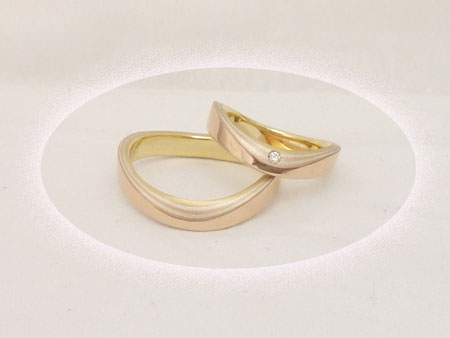 13020101木目金の結婚指輪_K1.jpgのサムネール画像