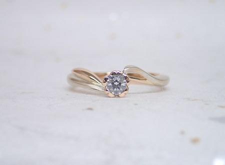 1901木目金の婚約指輪①.JPG
