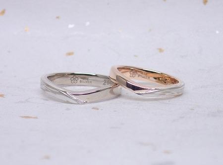 19030801木目金の結婚指輪02K.JPG