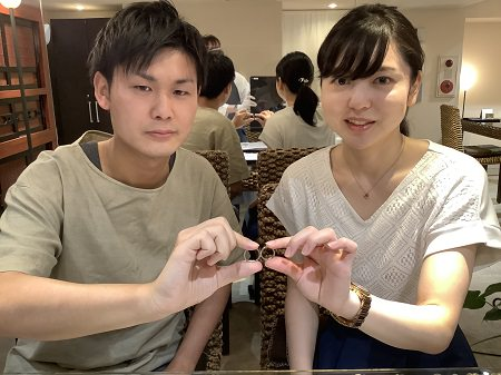 20080902木目金の婚約指輪結婚指輪_K001.JPG