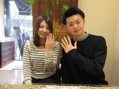 木目金の婚約指輪と結婚指輪 (2).JPG