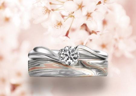 木目金の結婚指輪120210.jpg