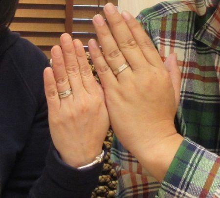 木目金の結婚指輪と婚約指輪_N003.jpg
