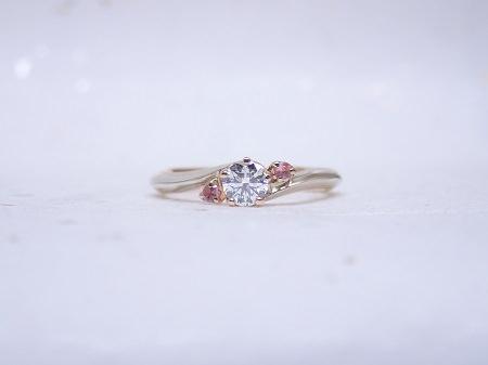 杢目金の婚約指輪.JPG