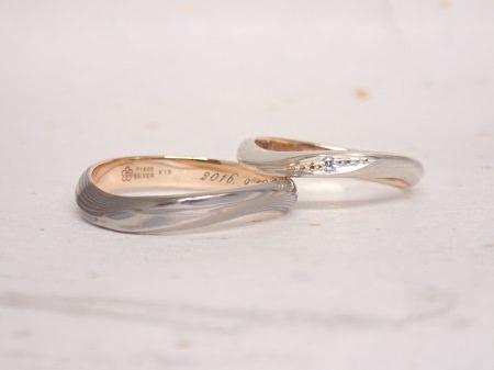 16101001木目金の婚約、結婚指輪N005.JPG