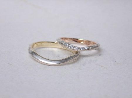 14100101木目金の結婚指輪_R001.JPG