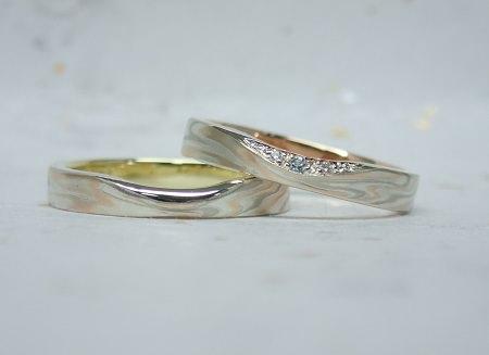 17082601木目金の結婚指輪①.JPG