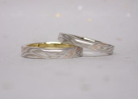 17082601木目金の結婚指輪②.JPG