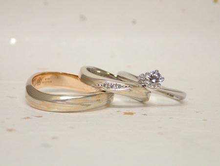 17092201木目金の結婚指輪①.JPG