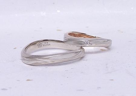 17092201木目金の結婚指輪②.JPG