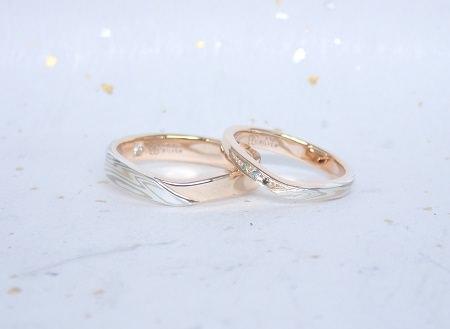 17092201木目金の結婚指輪⑥.JPG