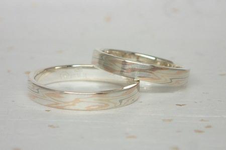17092201木目金の結婚指輪⑦.JPG