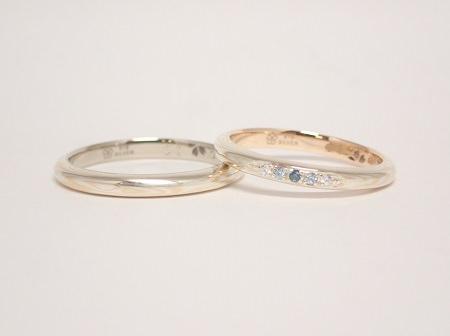 木目金の婚約指輪・結婚指輪_E02.JPG