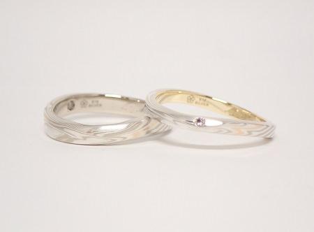 木目金の結婚指輪E_01.JPG