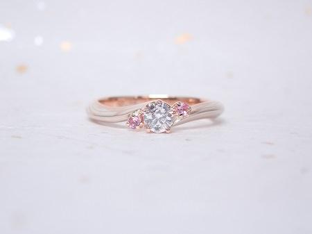 19032201木目金の婚約指輪.JPG