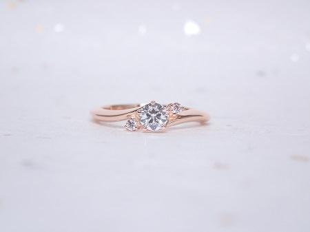 19051101木目金の婚約指輪.JPG