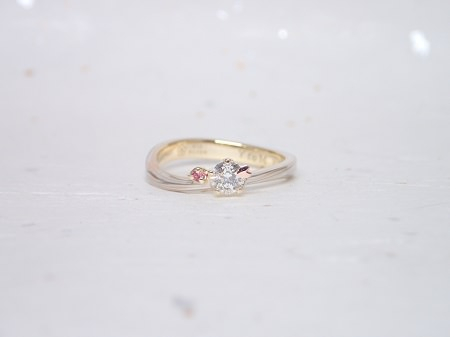 19053101木目金の婚約指輪.JPG