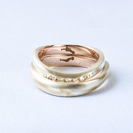 20041002木目金の結婚指輪.JPG