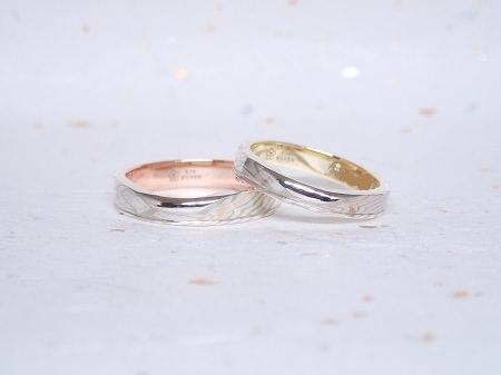 181027木目金の結婚指輪_J004②.JPG
