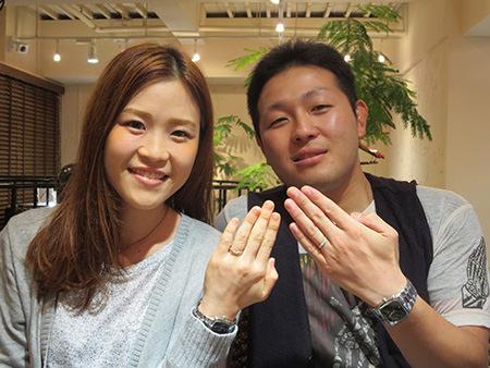 140915木目金の結婚指輪_J001.JPG