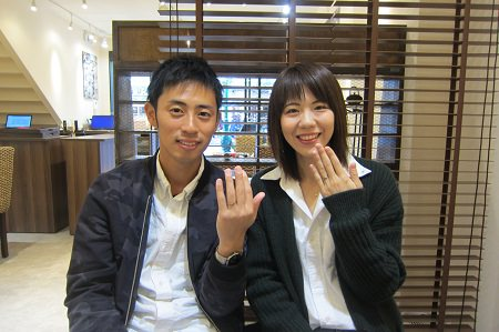 18120101木目金の婚約・結婚指輪 Z_003.JPG
