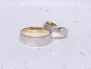 13061503M2杢目金屋表参道本店木目金結婚指輪.jpg