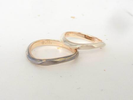 杢目金屋のお客様の結婚指輪120720表参道本店.JPG