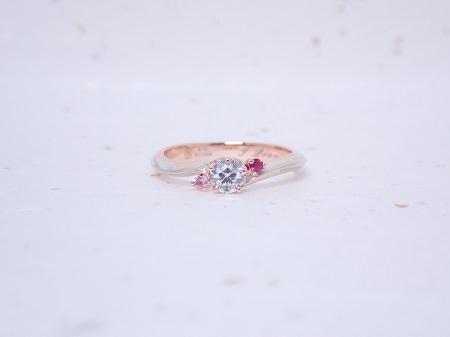 19090801木目金の婚約指輪と結婚指輪_M003.JPG