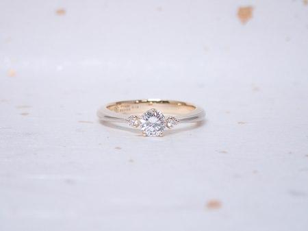 18120801木目金の婚約指輪と結婚指輪_F004.JPG