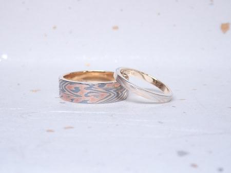 18120801木目金の婚約指輪と結婚指輪_F005.JPG