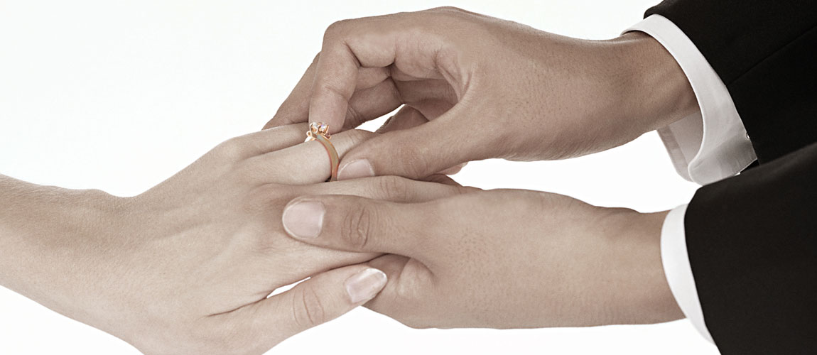 Japanese engagement ring