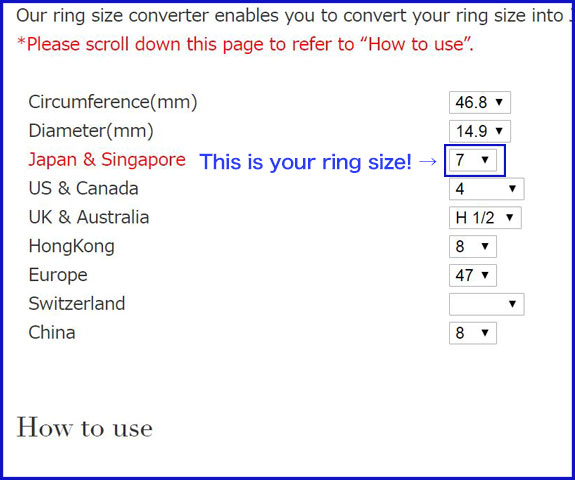 ring size converter
