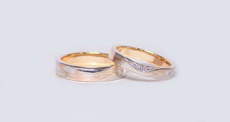 Platinum (Pt) × white gold (WG) × red gold (RG) × pink gold (PG) × yellow gold (YG) × green gold (GG) × silver (SV)Wedding bands (Flat straight)