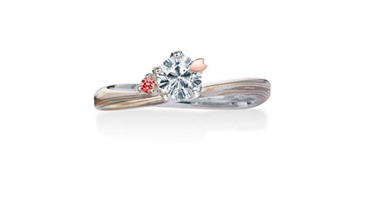Birthstone Arrangement For Engagement Rings Mokume Gane Unique