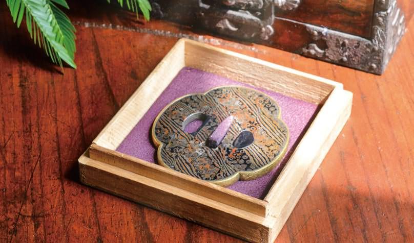 日式傳統工藝木紋金的傳承