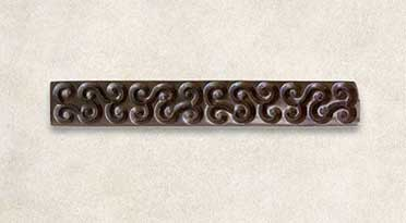 Kozuka with design of guri scrolls.Unsigned