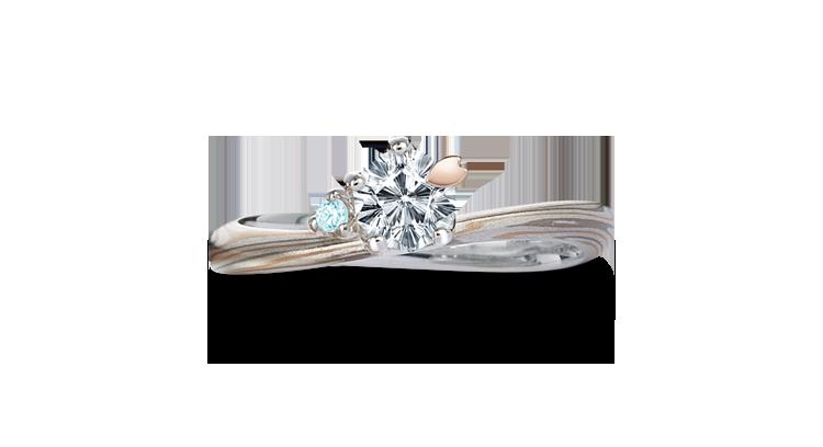 カラーダイヤ・アイスブルーダイヤモンド