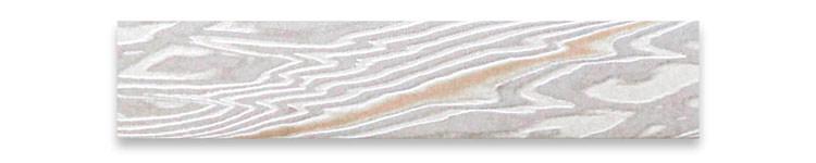 木目金の板素材プラチナ(Pt)×ピンクゴールドひとすじ(PG)×シルバー(SV)